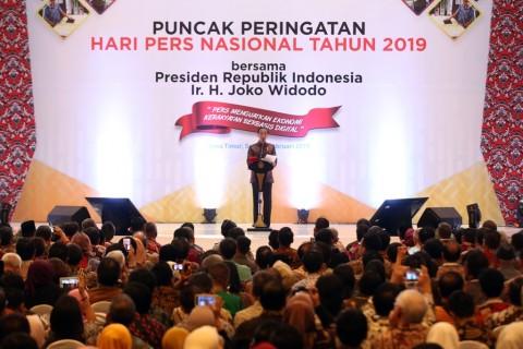 Jokowi Ingin Media Konvensional Jadi Pengendali Isu Hoaks