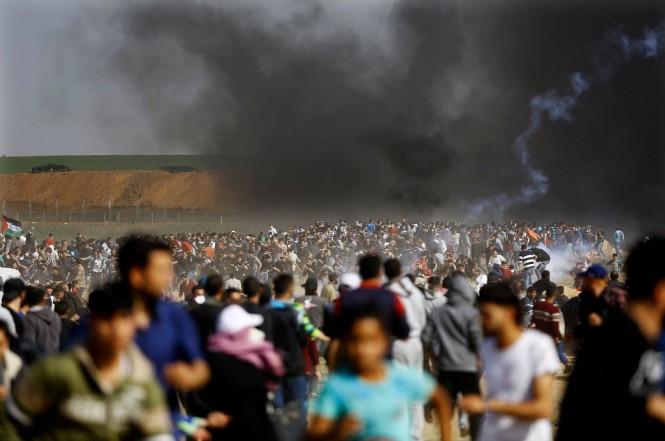 Bentrokan di perbatasan Gaza-Israel sudah terjadi sejak Maret 2018. (Foto: AFP)
