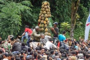 Meriahnya Festival Durian Lolong di Pekalongan