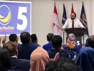 NasDem Ingin Rebut 40 Kursi DPR di Jawa