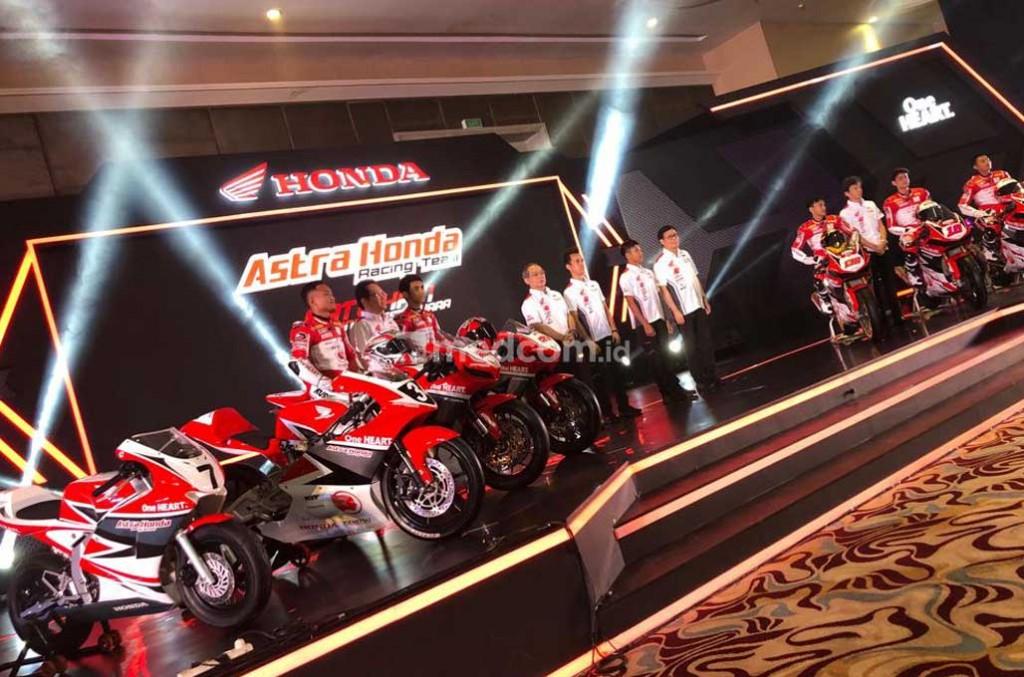 Skuad Honda Racing tahun ini lebih lengkap ke berbagai ajang balap dunia. medcom.id/Ahmad Garuda