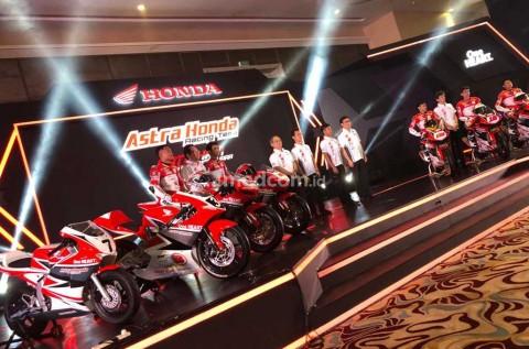 Skuad Tim Balap Honda Siap Tarung untuk 2019