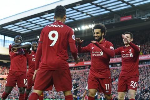 Tekuk Bournemouth, Liverpool Kembali ke Puncak Klasemen