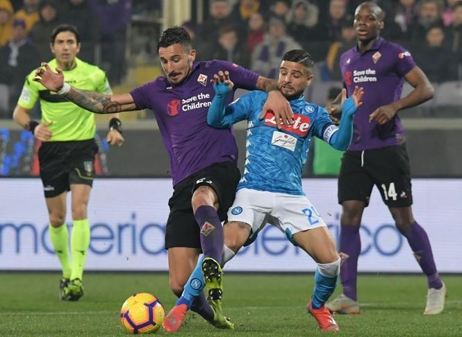 Fiorentina vs Napoli (AFP/TIZIANA FABI)