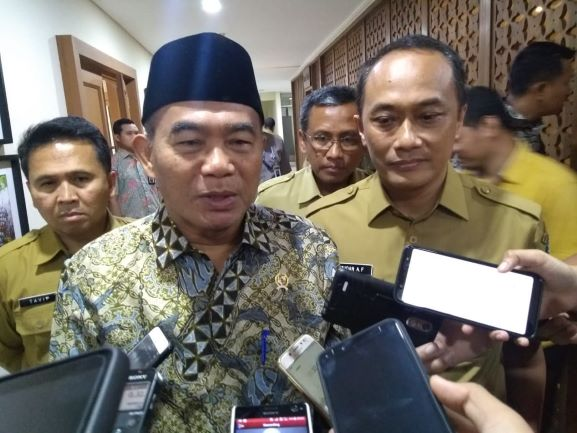 Mendikbud, Muhadjir Effendy, Medcom.id/Kautsar Widya Prabowo.