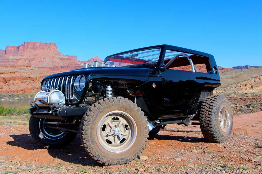 Jeep Quicksand bergaya hot rot era 1960-an. Autoguide