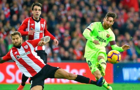 Barcelona Tertahan di Kandang Bilbao