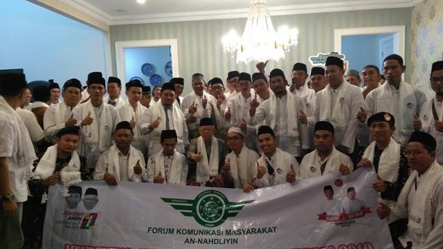 FKMA mendeklarasikan dukungan untuk Jokowi-Ma'ruf/Medcom.id/Syahrul Ramadhan