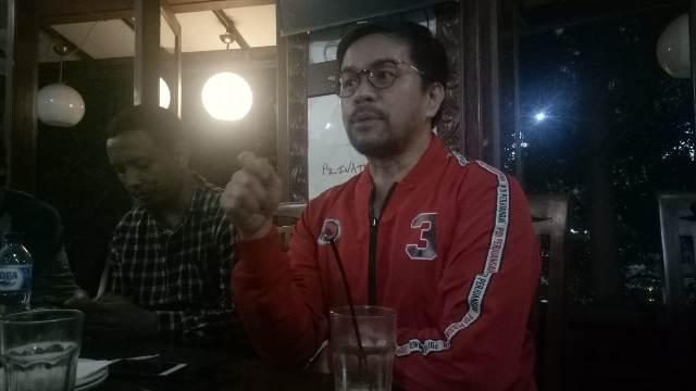 Wakil Ketua DPD Banten PDI Perjuangan Marinus Gea/Medcom.id/Hendrik Simorangkir