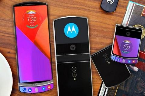 Ada Gambar Konsep Motorola RAZR 2019