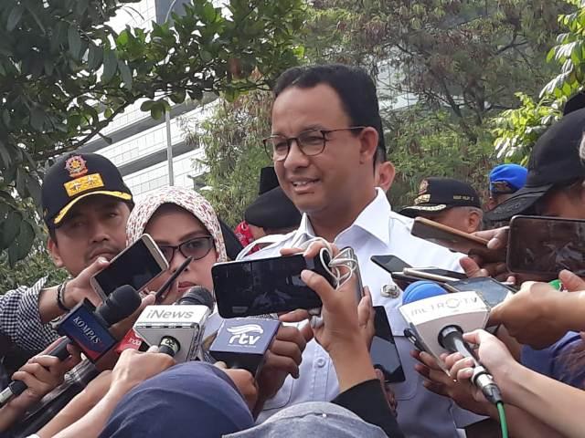 Gubernur DKI Jakarta Anies Baswedan/Medcom.id/Nur Azizah