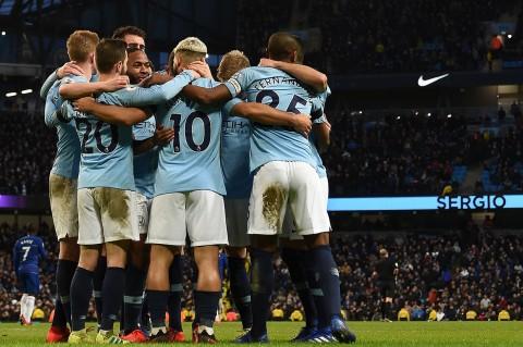 Manchester City Libas Chelsea 6-0