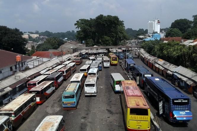 Terminal Baranangsiang, Kota Bogor, yang akan dibuat sebagai kawasan transit oriented development, Ant - Yulius Satria Wijaya
