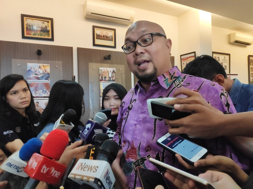 Komisioner KPU, Ilham Saputera - Medcom.id/Faisal Abdalla.