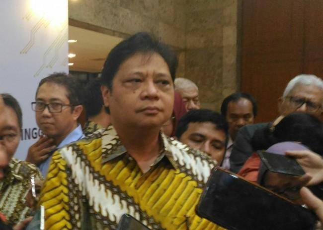 Industry Minister Airlangga Hartarto (Photo:Medcom.id/Ilham Wibowo)