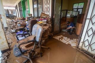 Kondisi Kerusakan Pasirjati Pascabanjir Bandang