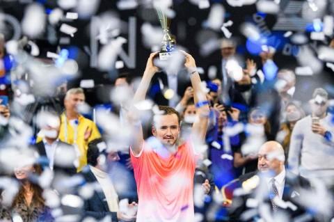 Kalahkan Fucsovics, Medvedev Juara Sofia Open 2019