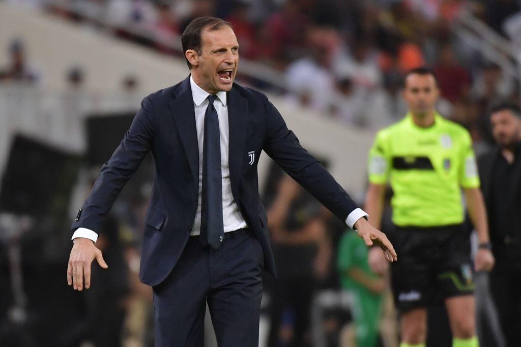 Pelatih Juventus, Massimiliano Allegri (AFP/Giuseppe Cacace)