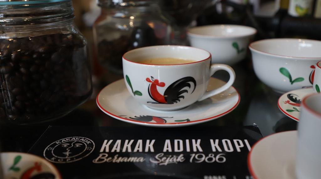 Salah satu sajian di kedai Kakak Adik Kopi (Foto: Isti/Medcoom.id)