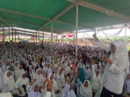 Jaringan Kiai Santri di Lampung Dukung Jokowi