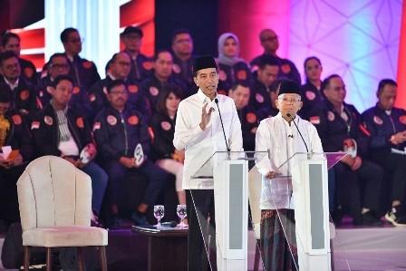 Jokowi-Ma'ruf Diyakini Menang di Jawa Barat