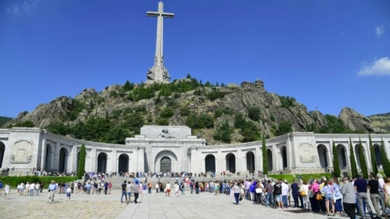 Makam Jenderal Francisco Franco menjadi satu-satunya situs Fasisme yang tersisa di Eropa. (Foto: AFP).