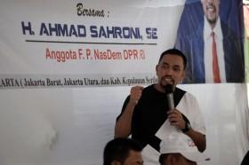 Sahroni Yakin Rebut Kursi NasDem di Dapil 3 DKI