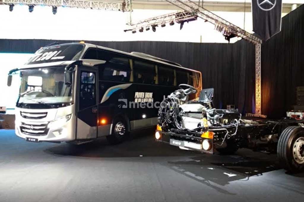 FleetBoard Indonesia sistem pengelolaan armada Mercedes-Benz. Medcom.id/M. Bagus Rachmanto