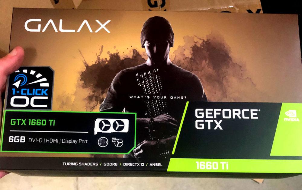 NVIDIA GeForce GTX 1660 Ti versi OEM merek GALAX.