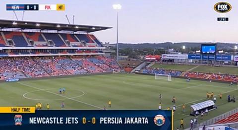 Sementara, Persija Imbangi Newcastle Jets