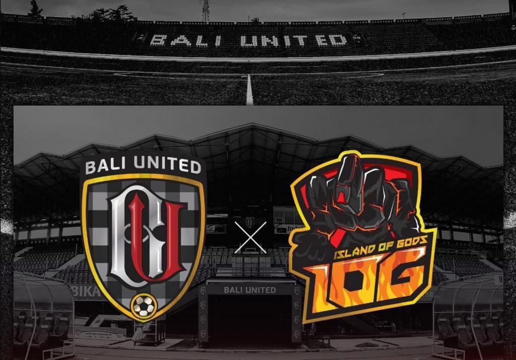 Island of Gods menjadi divisi esport dari klub sepak bola Bali United FC.