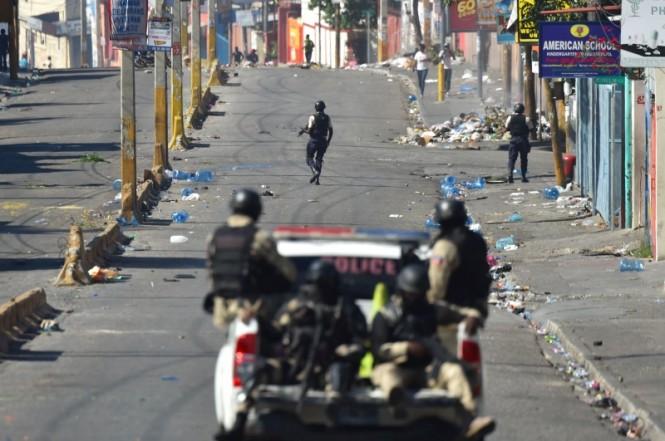 Kondisi Haiti tidak menentu akibat kekisruhan politik yang terjadi. (Foto: AFP).