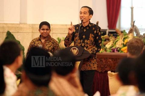 Curhat Jokowi Makan Sebutir Telur Berempat