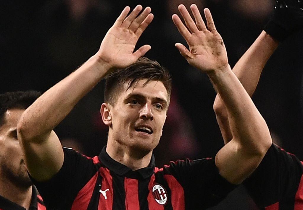 Penyerang AC Milan, Krzysztof Piatek (AFP/Marco Bertorello)