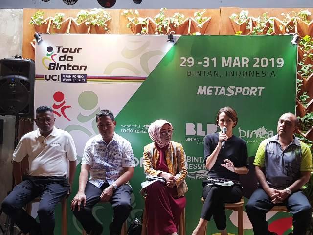 Jumpa pers Tour de Bintan 2019 di Jakarta Selatan, Selasa 12 Februari-Medcom.id/Rendy