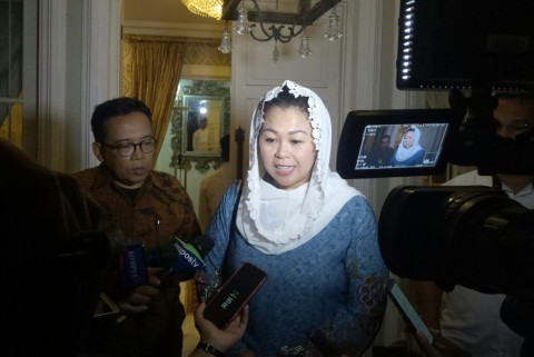 Yenny Wahid Laporkan Dinamika Pilpres ke Ma'ruf