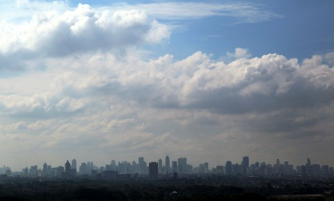 Cuaca DKI Jakarta Diprediksi Berawan