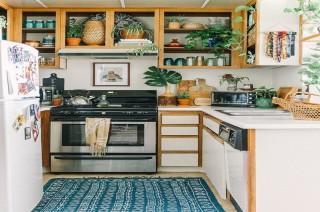 Tak Perlu Dapur Berukuran Besar untuk Hadirkan Gaya Bohemian