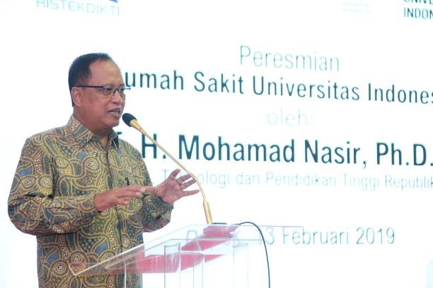 Research, Technology, and Higher Education Minister Mohamad Nasir (Photo: Antara/Kahfie Kamaru)
