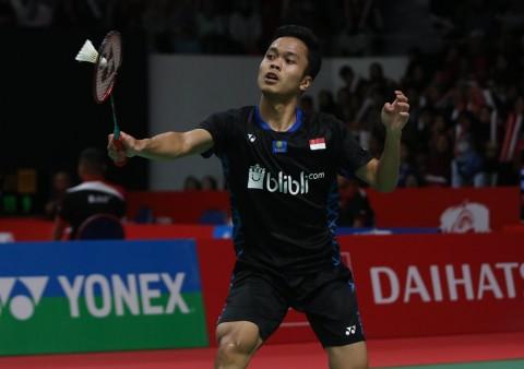 Kalah di Asian Games, Porsi Latihan Anthony Ginting Ditambah