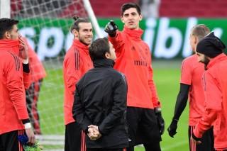 Susunan Pemain Ajax vs Real Madrid: Bale Starter