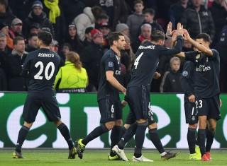 Real Madrid Susah Payah Tundukkan Ajax
