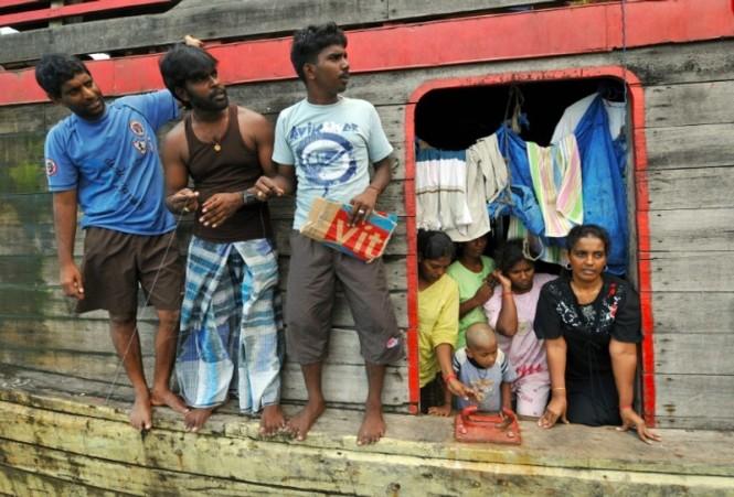 Imigran berupaya masuk ke Australia untuk mencari kehidupan lebih baik. (Foto: AFP).