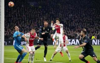 Ajax Jadi Korban Pertama VAR di Liga Champions