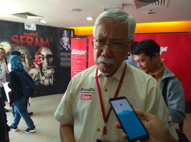Penasihat Eksekutif Editorial Sinar Harian, Abdul Jalil. (Foto: Willy Haryono/Medcom.id).