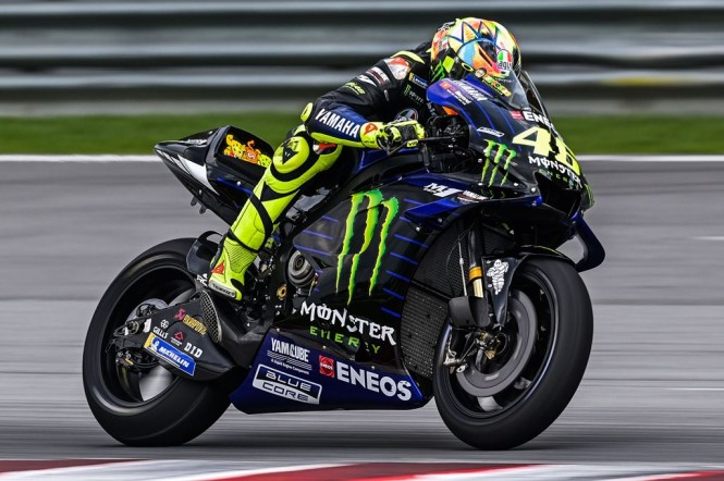 Valentino Rossi. (Foto: AFP/Mohd Rasfan)