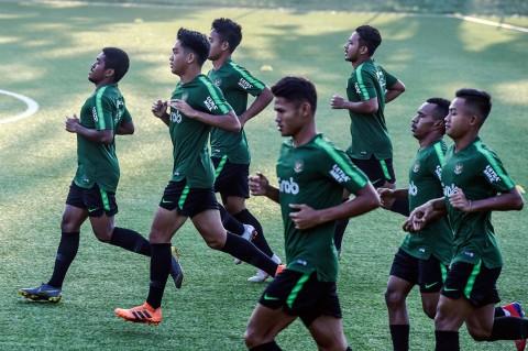 Timnas Gelar Latihan Terakhir Sebelum Terbang ke Kamboja