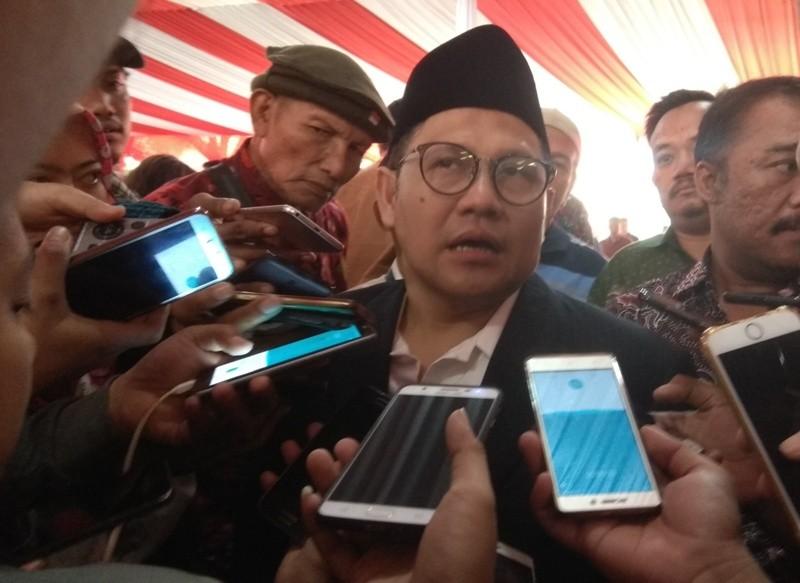 Ketum PKB Muhaimin Iskandar/Medcom.id/Lukman Diah Sari