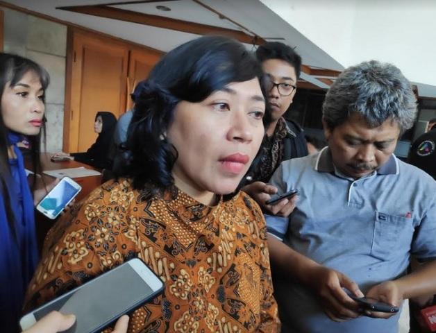 Kepala Biro Teknis dan hubungan partisipasi masyarakat KPU RI, Nur Syarifah--Medcom.id/Faisal Abdalla.