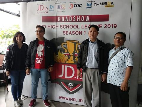 20 Tim Esport SMA/SMK Terbaik Indonesia Siap Berlaga di HSL 2019